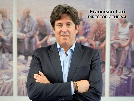 Francisco Lari, director general Salut i treball